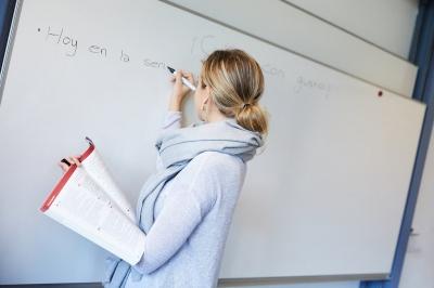 Jenny im Fremdsprachenunterricht
